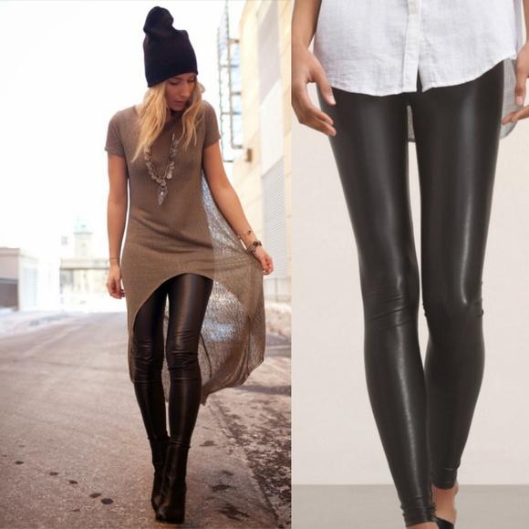 1a9c0b70072e8 Aritzia Pants - Aritzia Wilfred Free Daria Faux Leather Pants Sz S